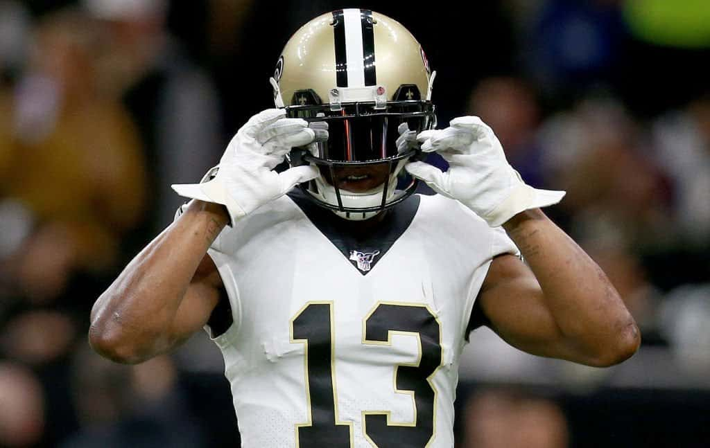 How do we handle Michael Thomas' injury in fantasy football?