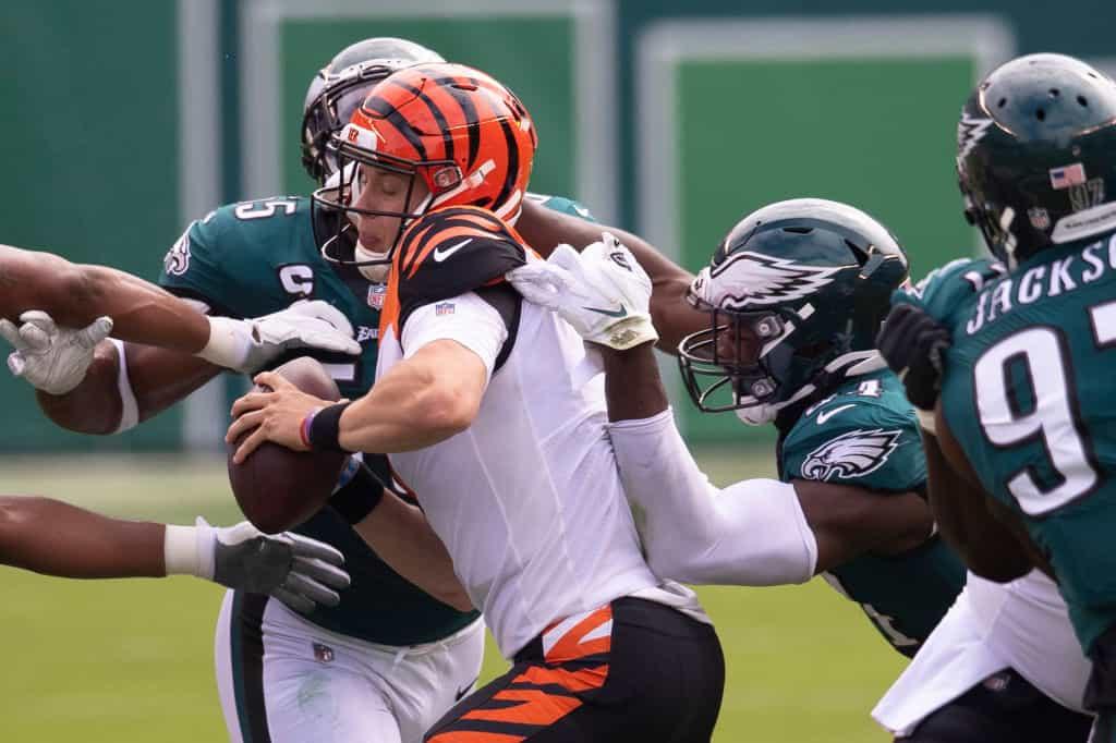 Bengals offensive line