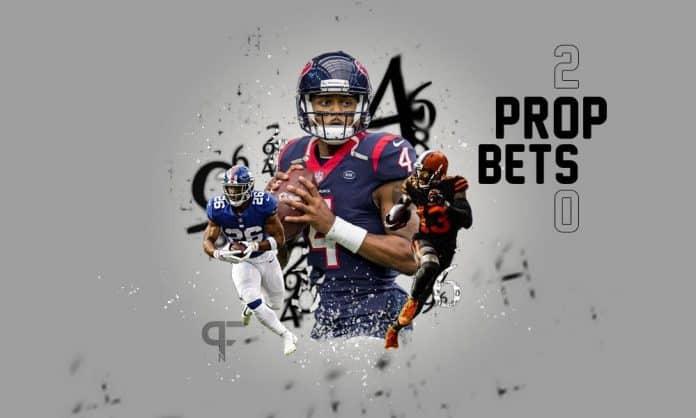 nfl prop bets week 2