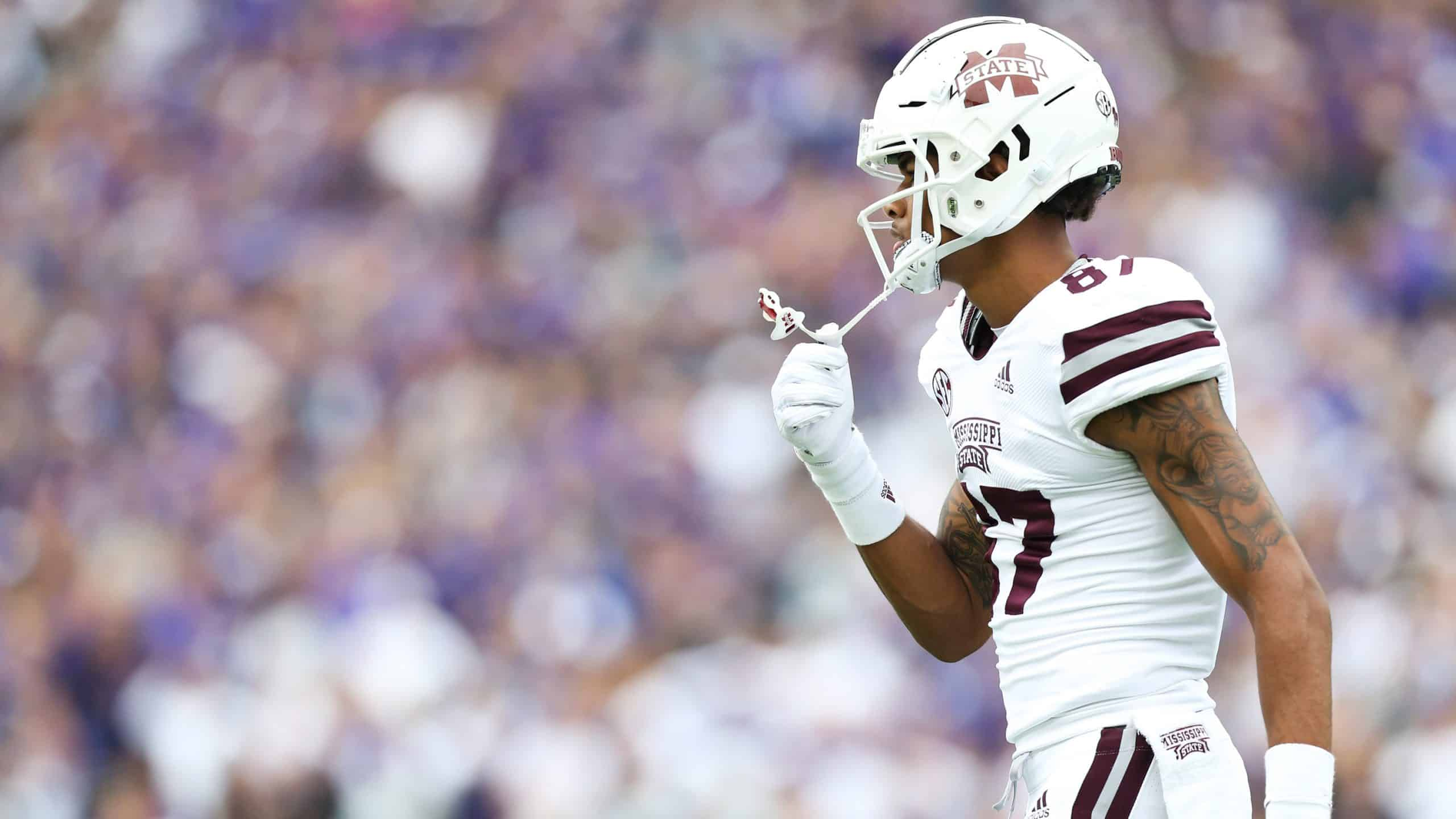 Mississippi State WR Osirus Mitchell set to make the leap in 2020