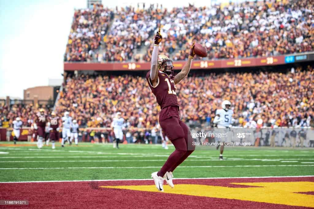 2021 NFL Draft: Can Rashod Bateman become the class WR1?