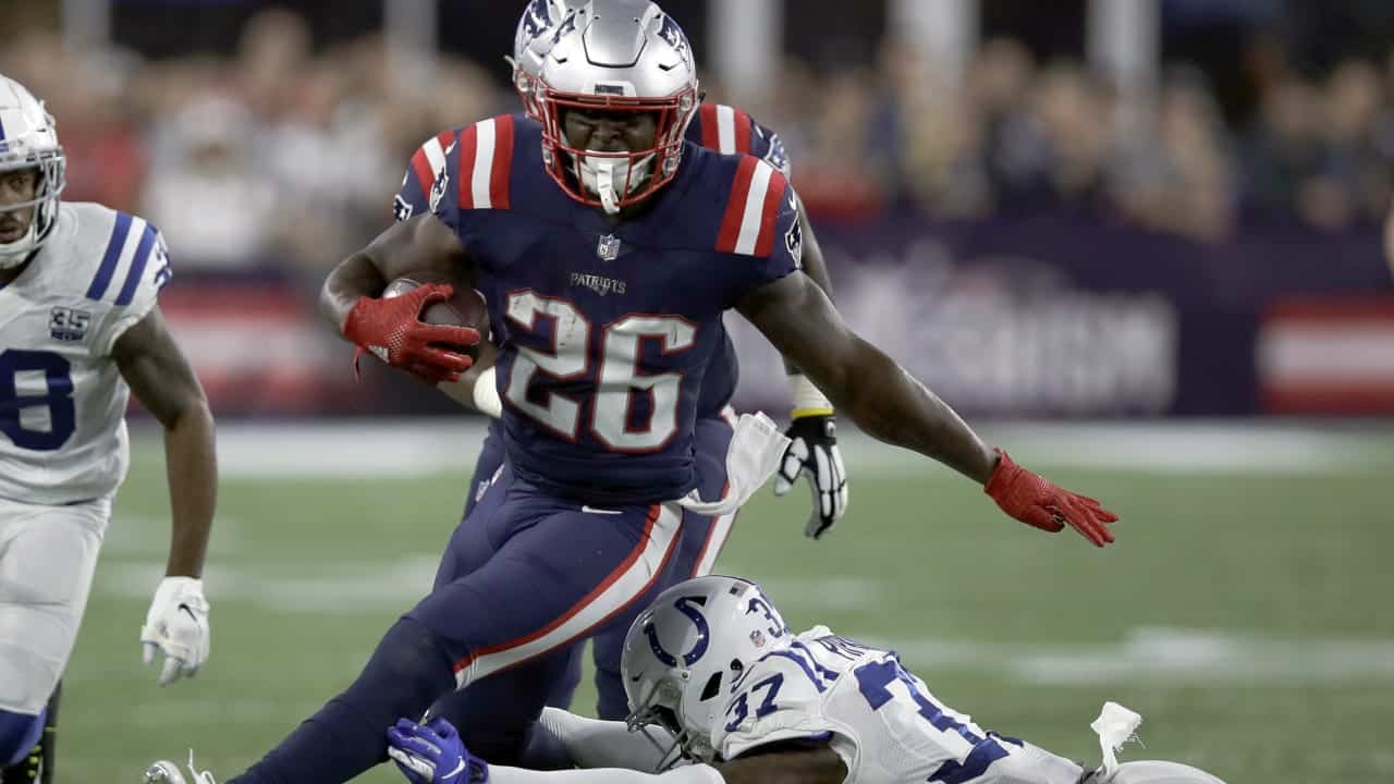 Can Sony Michel Be A Fantasy Starter For Your Team In 2020 Pfn