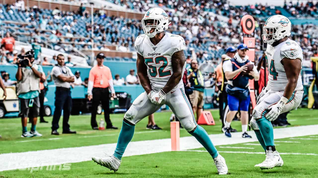 Dolphins linebackers in 2020 are a mixed bag of athleticism
