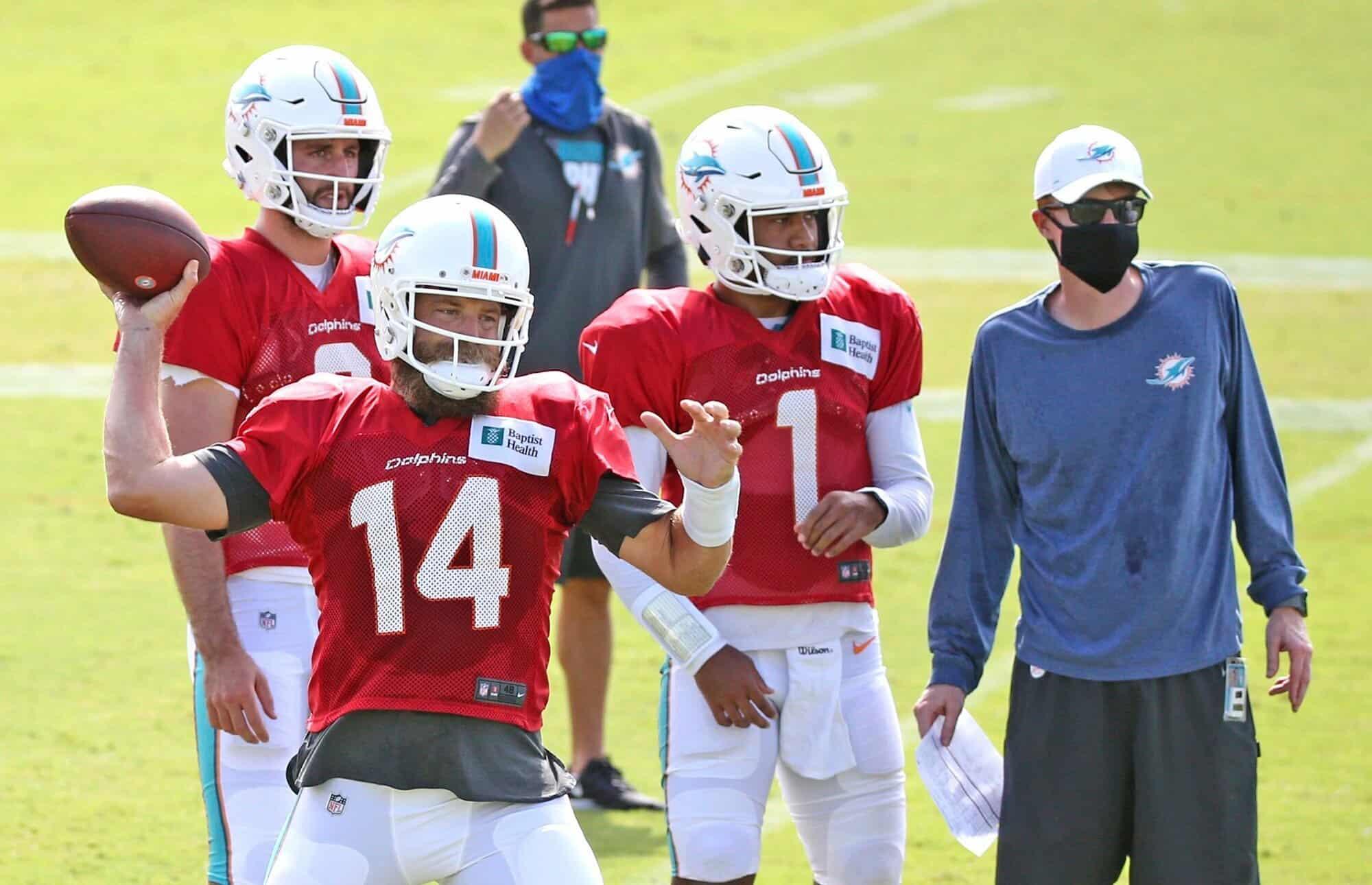 Miami Dolphins 2020 Training Camp Preview: Quarterbacks