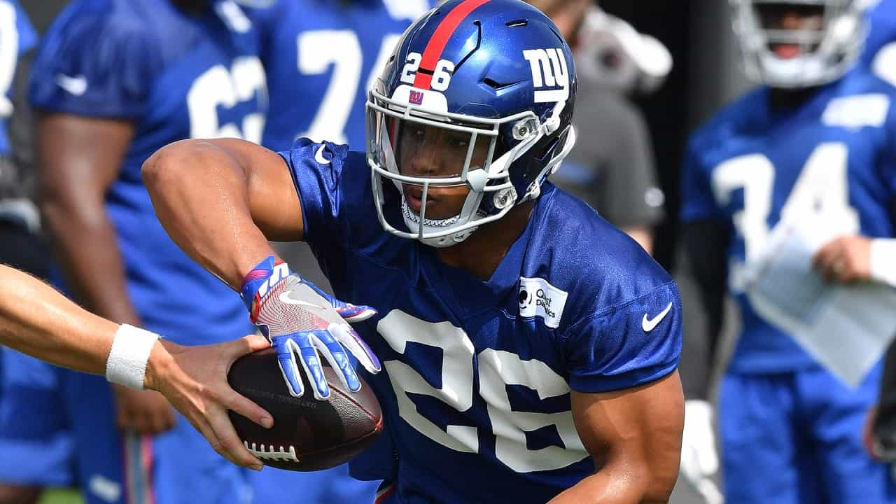 Should Saquon Barkley be the first pick in fantasy football drafts?