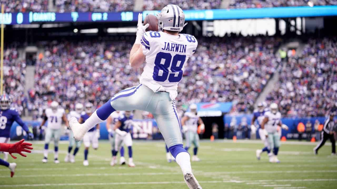 RAS: Cowboys TE Blake Jarwin is ready to make the leap in 2020