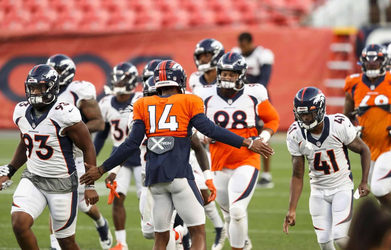 Broncos matchup Week 1 Broncos Titans