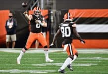 How has Baker Mayfield's production influenced this new Browns offense?