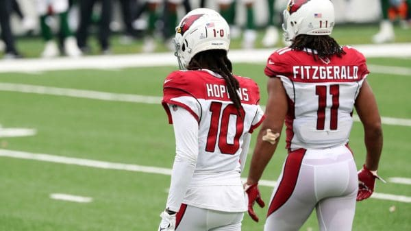 DeAndre Hopkins Fantasy Outlook: Who are the options if he sits?, injury, Cardinals wide receivers