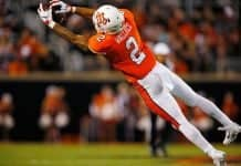 Tylan Wallace NFL Draft, wide receiver, Oklahoma State