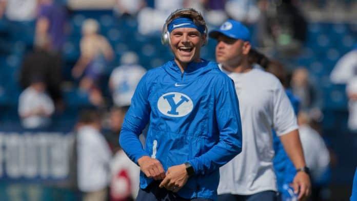 BYU QB Zach Wilson flashing desirable traits early in 2020
