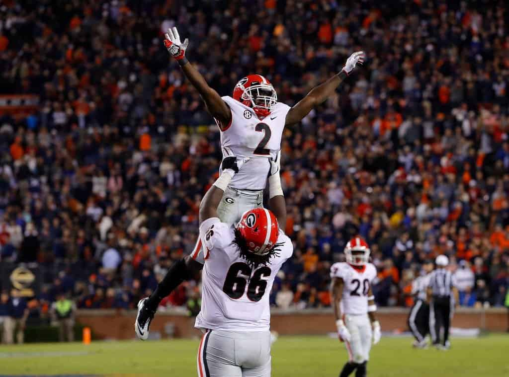 Georgia football draft prospects to watch when Bulldogs play Auburn