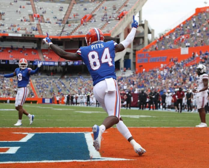 Kyle Pitts NFL Draft Player Profile, Florida tight end
