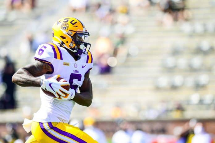Terrace Marshall Jr. NFL Draft Player Profile, LSU wide receiver