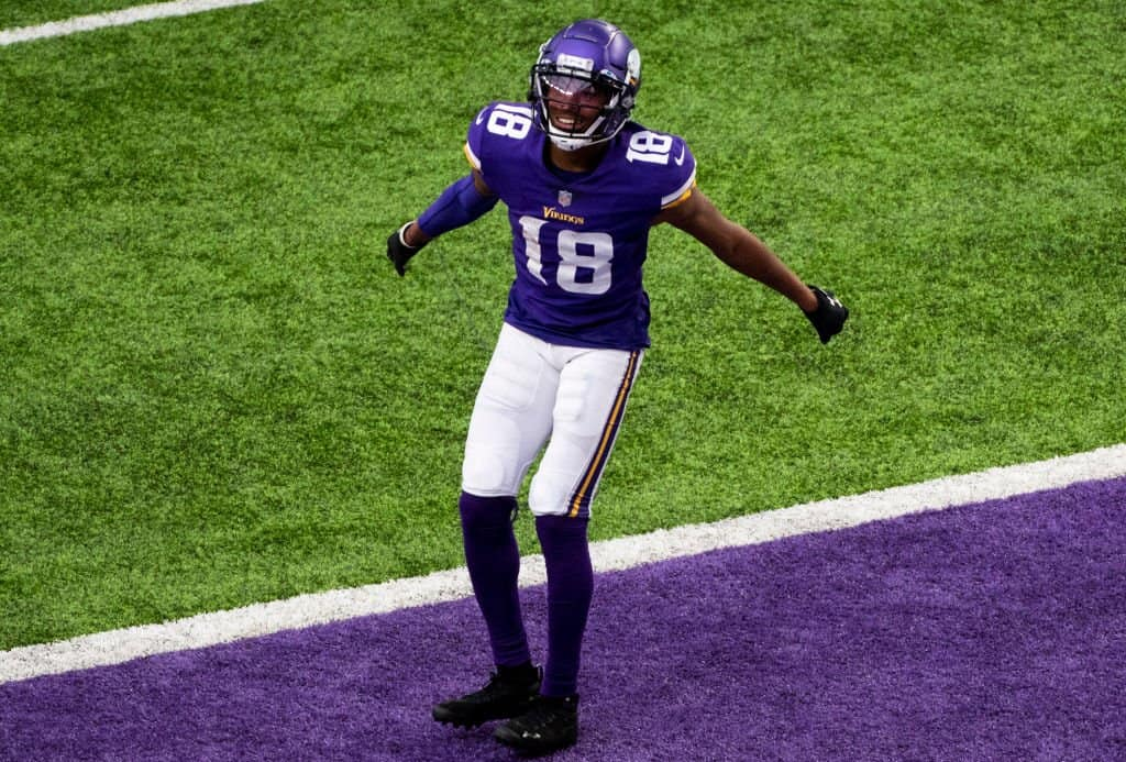 Justin Jefferson is becoming a star despite the Vikings struggles