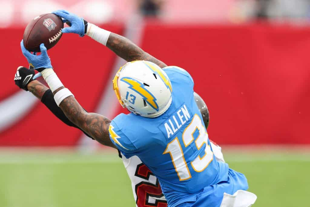 Will Keenan Allen Be Available For Fantasy Football Teams In Week 7 Pfn