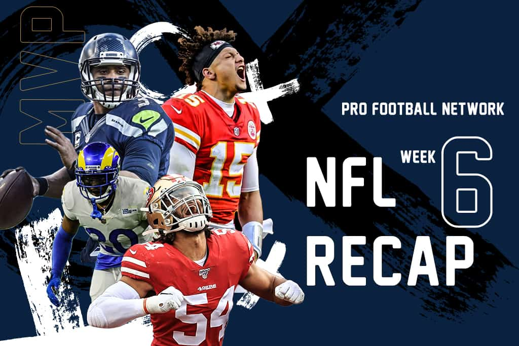 NFL Week 6 Recap and News: The biggest takeaways from Sunday's action