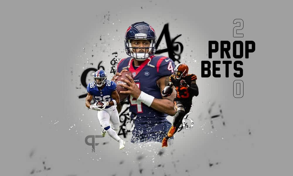 NFL Betting: Prop bets for Week 4 of the 2020 NFL season