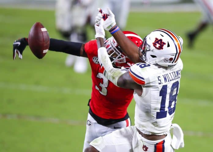 Tyson Campbell's play has made Georgia's defense elite