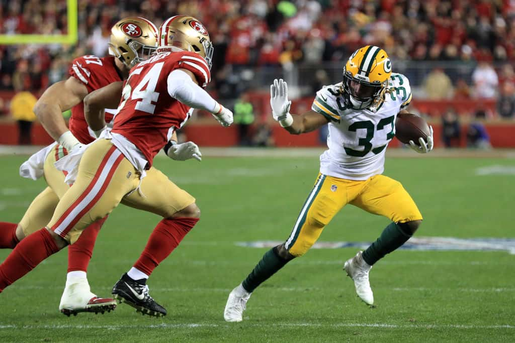 Aaron Jones' Injury means Fantasy managers need a backup plan