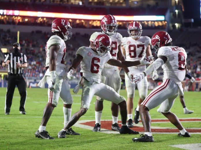 Devonta Smith: Alabama WR complete from release to finish