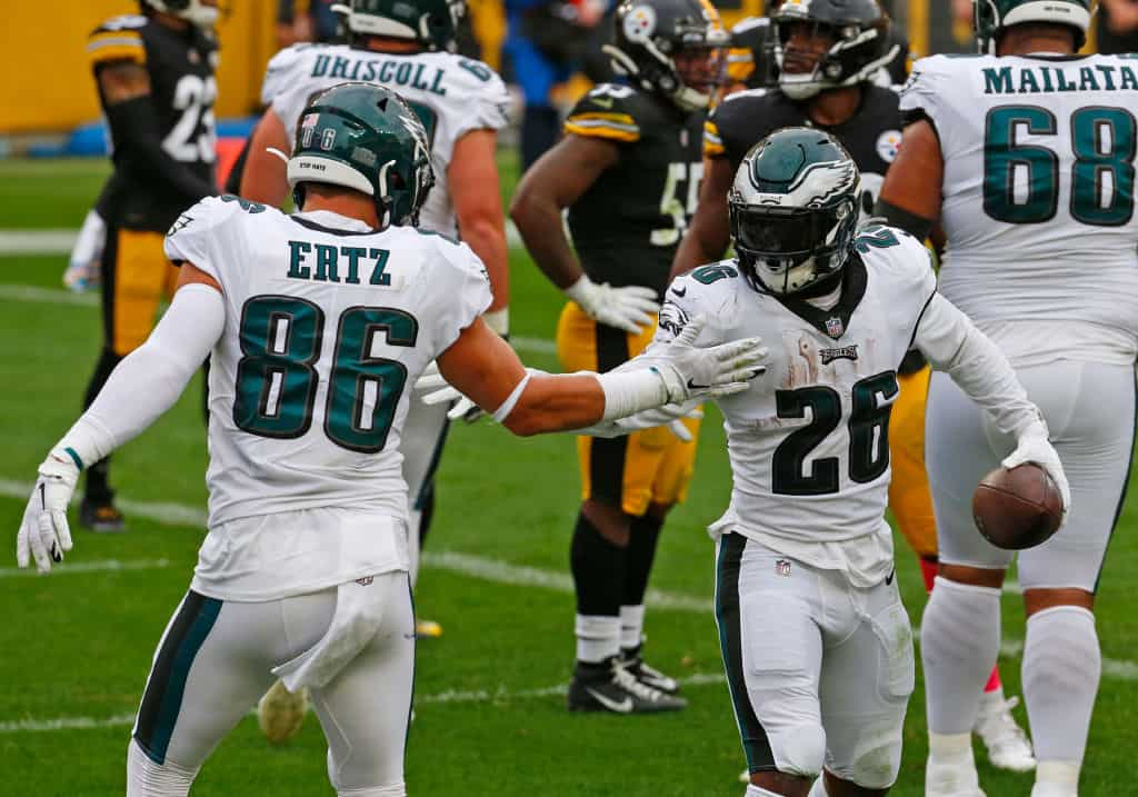 Eagles Depth Chart: Is there any fantasy value for Philadelphia in Week 6?