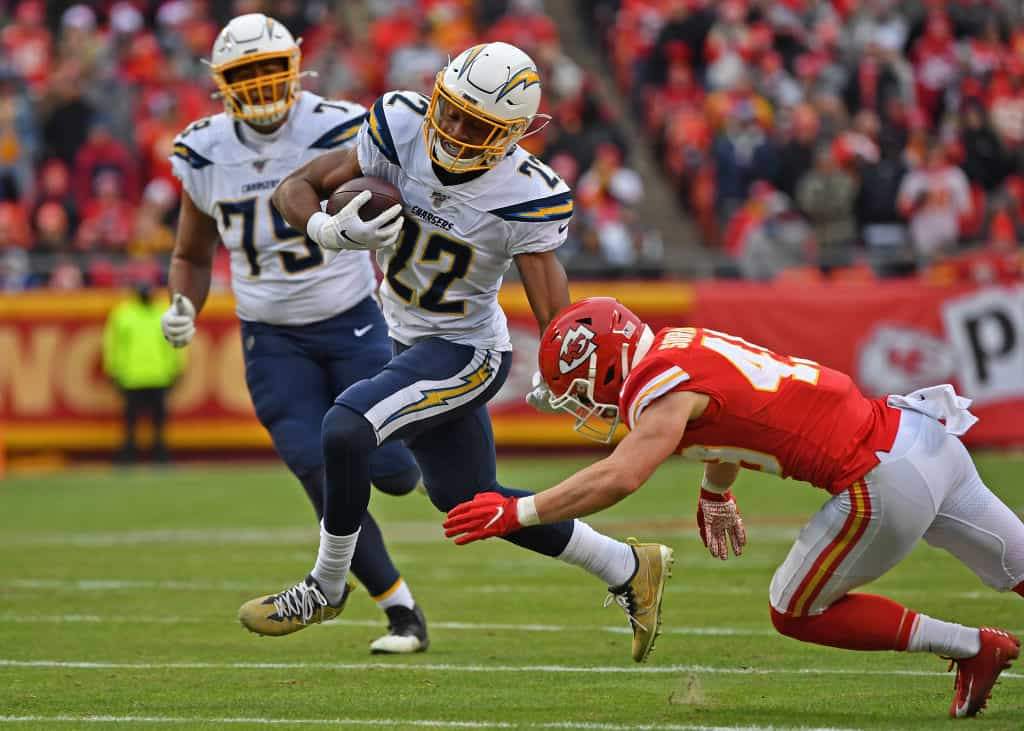 Justin Jackson or Joshua Kelley: What Chargers RB do I start in Week 5?