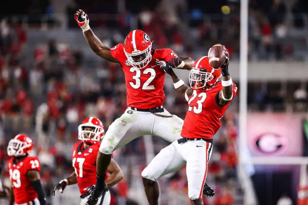 NFL Draft Stock Report Monty Rice & Darius Stills headline Week 5 risers