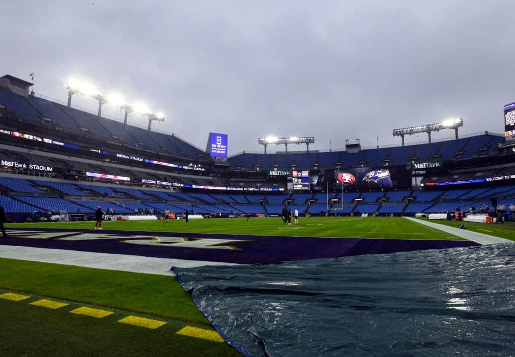 NFL Weather Forecast, Week 5: A rain-soaked slate of games