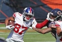 Sterling Shepard is a fantastic buy-low player in fantasy for Week 7