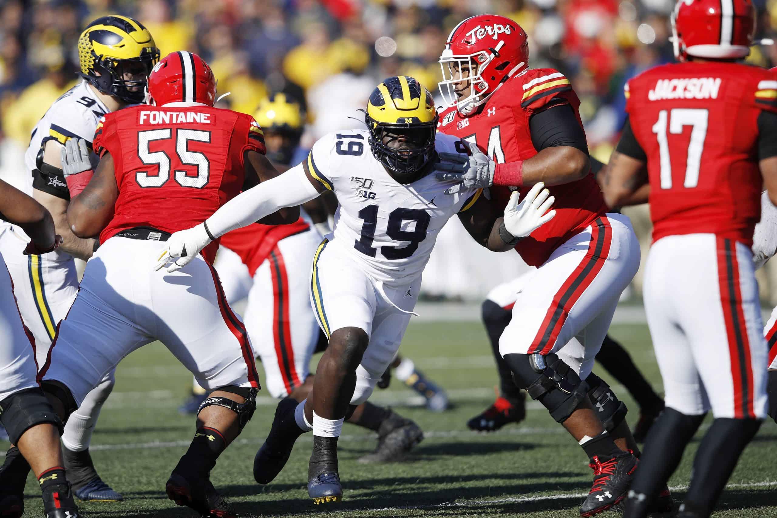 Kwity Paye, EDGE, Michigan - NFL Draft Player Profile