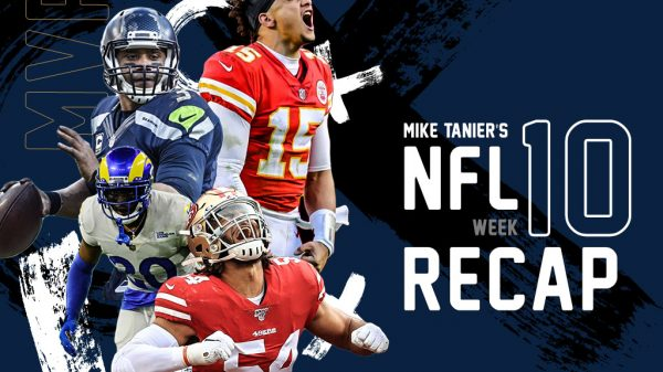 NFL Week 10 Recap and Highlights: DeAndre Hopkins, Tua, Nick Chubb, and more