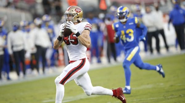 George Kittle Injury Report: Kittle to IR, out Week 9
