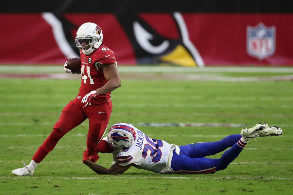 Kenyan Drake or Chase Edmonds: What Cardinals RB should I play in fantasy tonight vs. Seahawks?