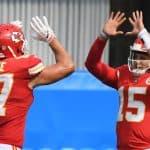 NFL DFS Picks Week 12: Top targets and values this week Patrick Mahomes Travis Kelce