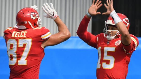 NFL DFS Picks Week 12: Top targets and values this week Patrick Mahomes Travis Kelce