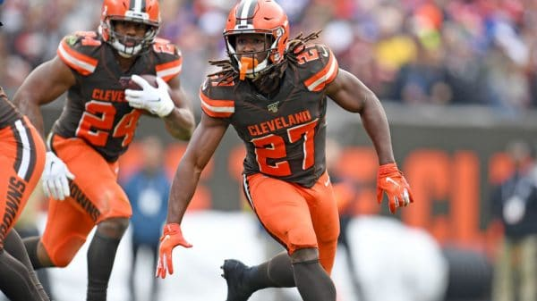 Nick Chubb or Kareem Hunt: Better Browns RB play for Week 12