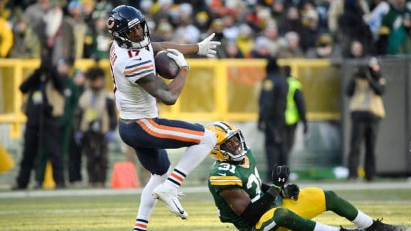 Who plays on Sunday Night Football tonight? Time, TV channels, schedule for NFL Week 12 Bears vs. Packers