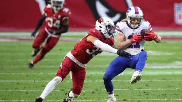 Top NFL Wide Receivers from Week 10 via PFN's OVM Cole Beasley