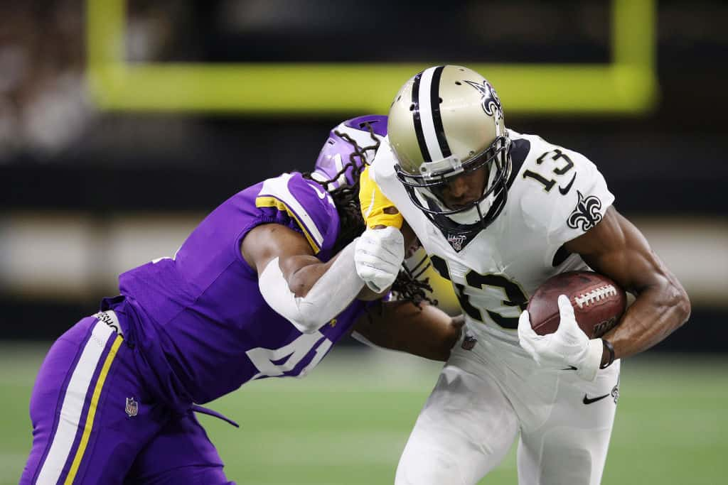 Week 13 WR Rankings: Sleepers, must starts, busts Michael Thomas, fantasy football wide receivers