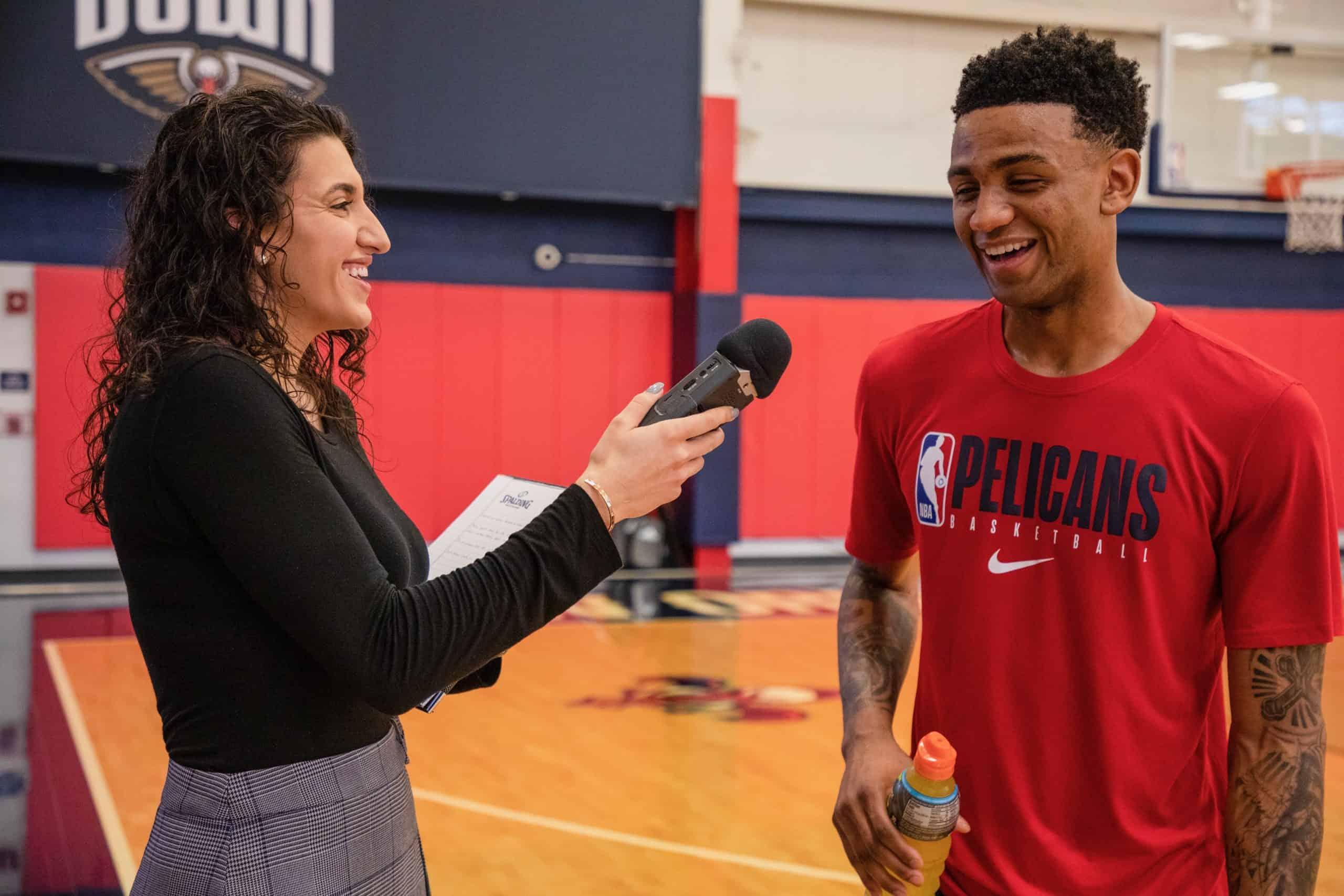 Women In Sports: Caroline Gonzalez talks rise to becoming Saints team reporter