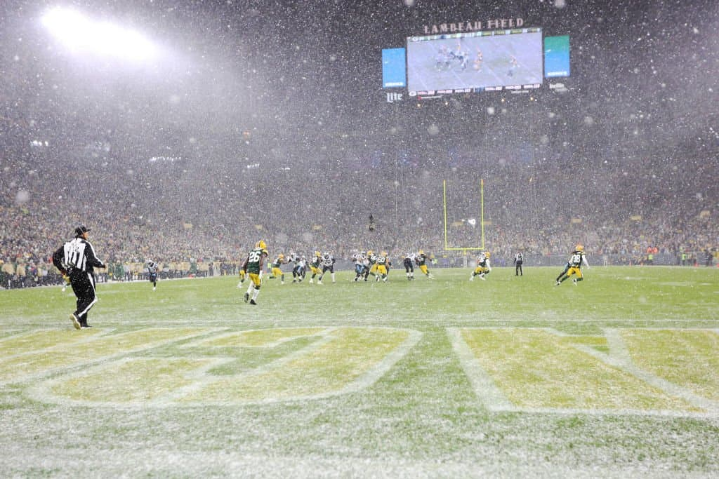 NFL Weather Forecast & Report Week 16 Snow in Green Bay