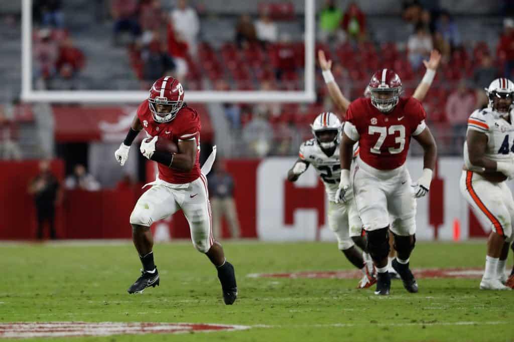 Najee Harris, RB, Alabama - NFL Draft Player Profile