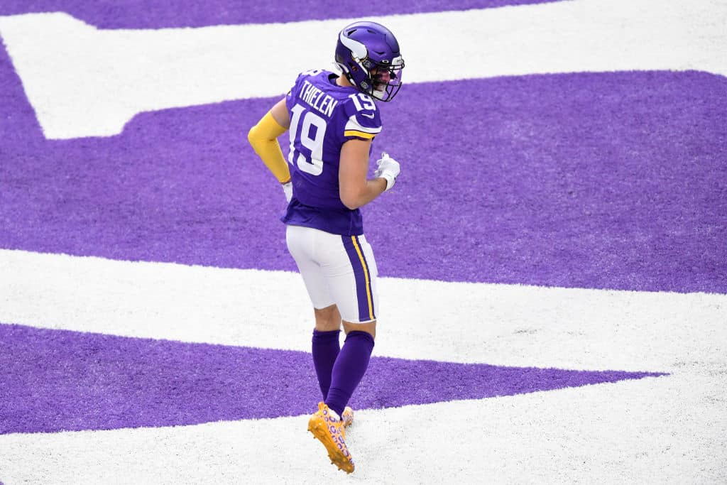 Adam Thielen Fantasy Outlook: What to expect today vs. Saints