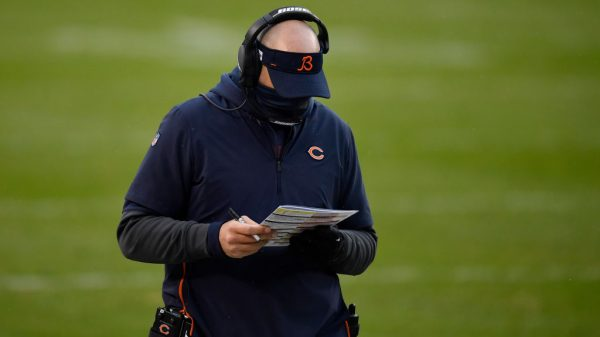 Bears targeting Pat Fitzgerald if head coach Matt Nagy is fired?