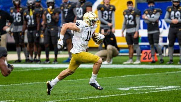 Ben Skowronek, WR, Notre Dame - NFL Draft Player Profile