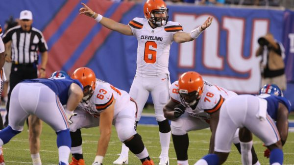 Browns vs. Giants Spreads for Sunday Night Football in Week 15