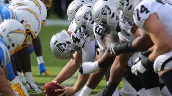 Chargers vs. Raiders Spreads for Thursday Night Football in Week 15