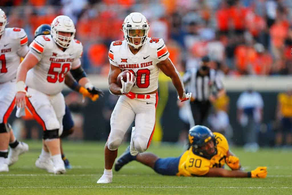 Chuba Hubbard, RB, Oklahoma State - NFL Draft Player Profile