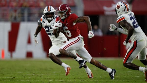 Dolphins leaning wide receiver with 3rd overall pick in 2021 NFL Draft?